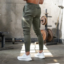 Load image into Gallery viewer, GP113 Casual Patchwork Cargo Sweatpants