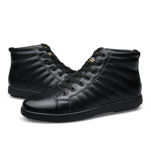 LS55 Fashion Genuine Leather  Boots
