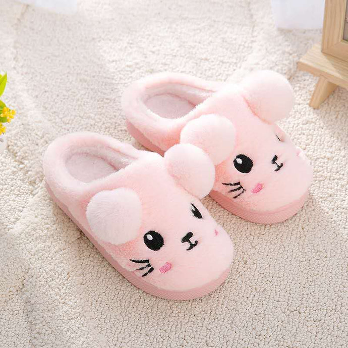 Toddler Kids cute cartoon slipper