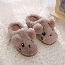 Load image into Gallery viewer, Toddler Kids cute cartoon slipper