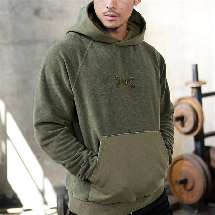 GS801 Embroidery Gyms Hooded Sweatshirt
