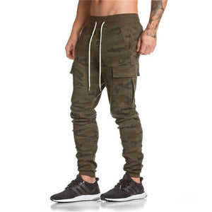 Cotton Camo Sweatpants Cargo Pocket Style (Ready Stock)