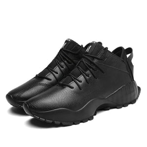 MS903 High Quality Breathable Men Split Leather Shoes