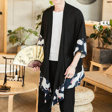 Load image into Gallery viewer, Japan Style Yukata Linen Cropped Pants