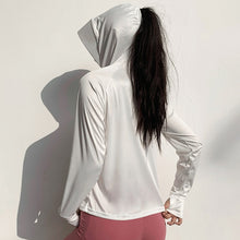 Load image into Gallery viewer, Long Sleeve Face Mask Sport Hoodie