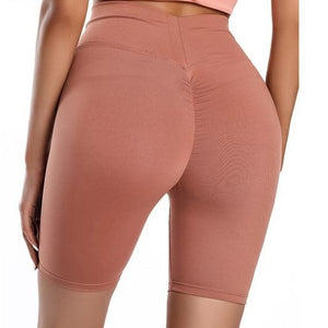 Stretchy Ruched Butt Athletic Shorts
