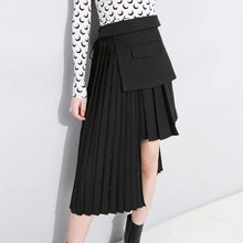 Load image into Gallery viewer, New Irregualr Pleated Skirt
