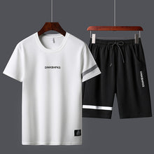 Load image into Gallery viewer, 2pcs/set Summer Men sport track suit