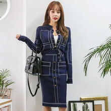 Load image into Gallery viewer, Ladies Casual Knitted Suit