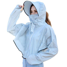 Load image into Gallery viewer, Long Sleeve Open Front Mask Coat