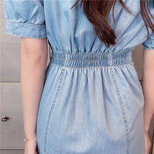 Load image into Gallery viewer, New Summer Vintage Denim Dress