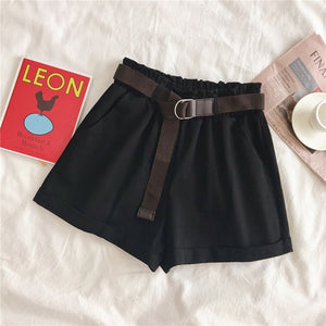 Shorts With Belt