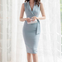 Load image into Gallery viewer, High Quality Elegant Bodycon Women Dress