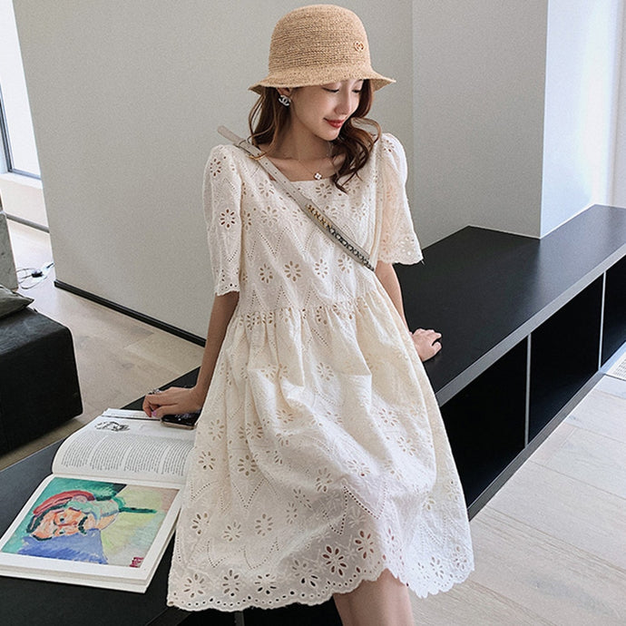 New Hollow Out Lace Dress