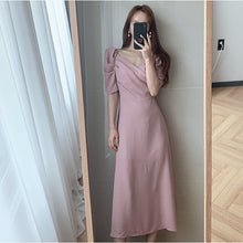 Load image into Gallery viewer, Elegant Sexy V Neck Solid Long Dress