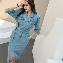 Load image into Gallery viewer, New 2020 Women Denim Dress
