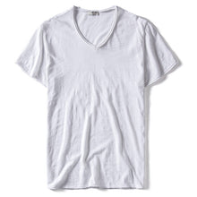 Load image into Gallery viewer, V-neck Slim Fit T-shirt