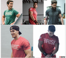 Load image into Gallery viewer, MT63 Gyms Tight Crossfit Summer Tee Top 4 Colors