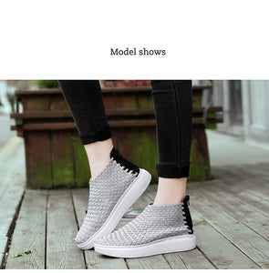 WS66  Woven Casual Loafers