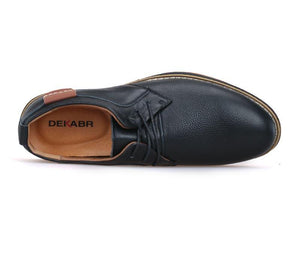 LS33 Casual New Genuine Leather Flat Shoes