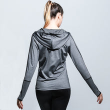 Load image into Gallery viewer, SJ92 Women Sport Zipper Hoodie Jacket