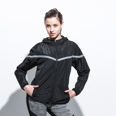 SJ90 Women Zipper Windproof Sport Jacket