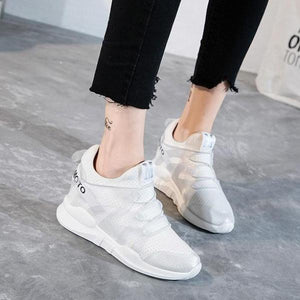 WSS052 Casual Platform Wedges Shoes