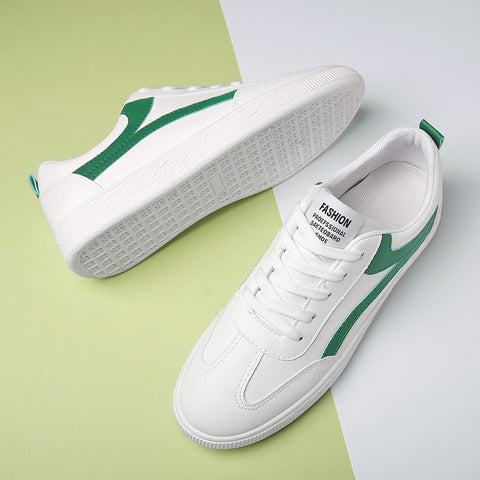 MS55 Genuine Leather Casual  Sneakers