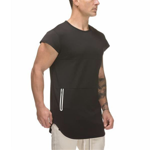 MT017 Tight Elastic Gym T shirt
