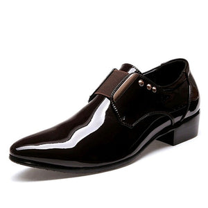 LS60 Italian Fashion Leather Shoes
