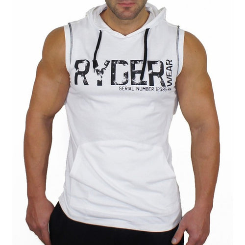 MGW26 Summer sleeveless Hoodies Gyms Vest