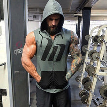 Load image into Gallery viewer, GS60 Gym Hoodie Sleeveless Vest