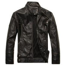 Load image into Gallery viewer, MJ27 Leather Slim Fit Jacket