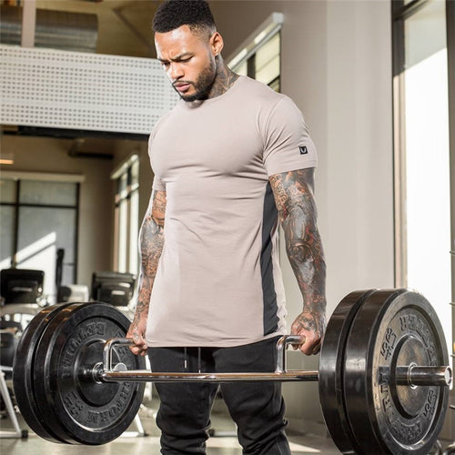 MT009 Bodybuilding Cotton T shirt