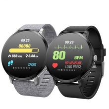 Load image into Gallery viewer, SW- V11 P67 Tempered Glass Fitness Smartwatch