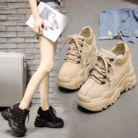 WS331 Wedge 10 CM Fashion Sneaker