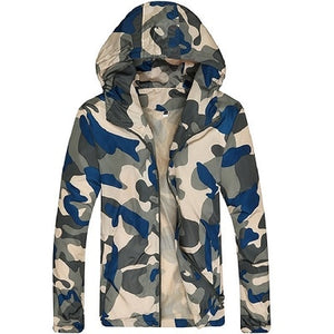 MJ02 Camouflage Lightweight Jackets