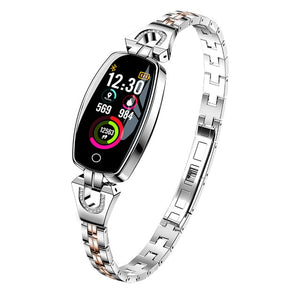 SW-L-H8  Women Fashion Waterproof Heart Rate Fitness Bracelet