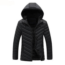 Load image into Gallery viewer, MJ14 Casual Hooded Parka Coat