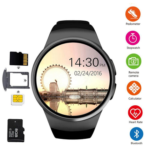 SW16 Dual Screen Smart Watch IP67 Waterproof Activity Fitness Tracker Smartwatch