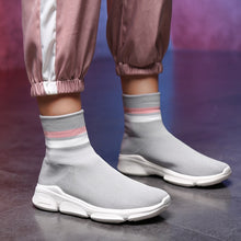 Load image into Gallery viewer, WS453 Plus Size 35-42 Women Sock Sneakers