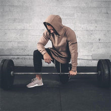 Load image into Gallery viewer, GYS02 Hoodies Gyms Side Zipper Sweatshirt
