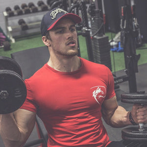 GT90 Wolf Crossfit Fitness Tee