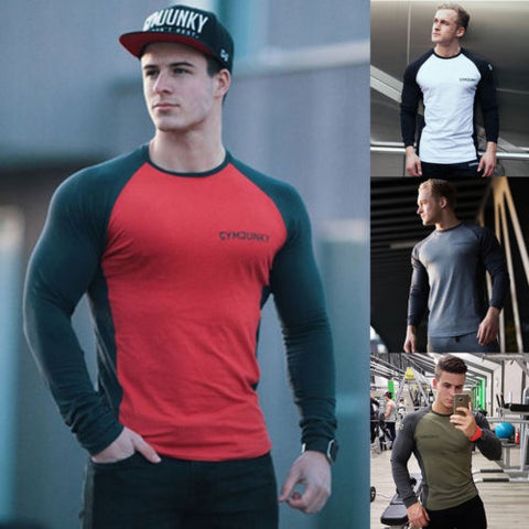 GS50 Cotton Short Sleeve Gym T Shirts