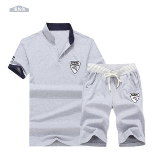Men 2pxs/set summer Tracksuits