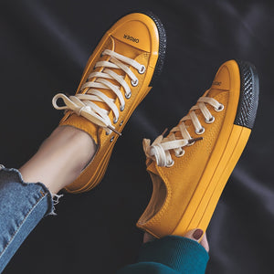 WS77 Woman Candy Color Fashion Sneakers Size 35-40