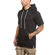 Load image into Gallery viewer, GS800 New Short Sleeve Men Gyms Hoodies