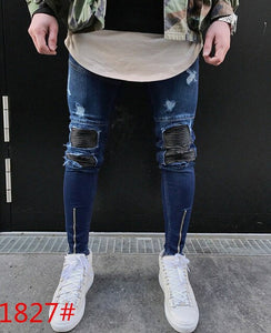 MD52 HOT 2019 Fashion Casual Jeans