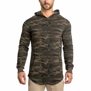 GYJ30 Men Camouflage Gym  Hoodies