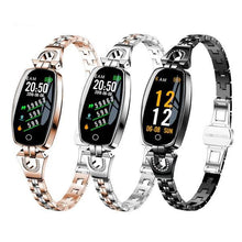 Load image into Gallery viewer, SW-L-H8  Women Fashion Waterproof Heart Rate Fitness Bracelet